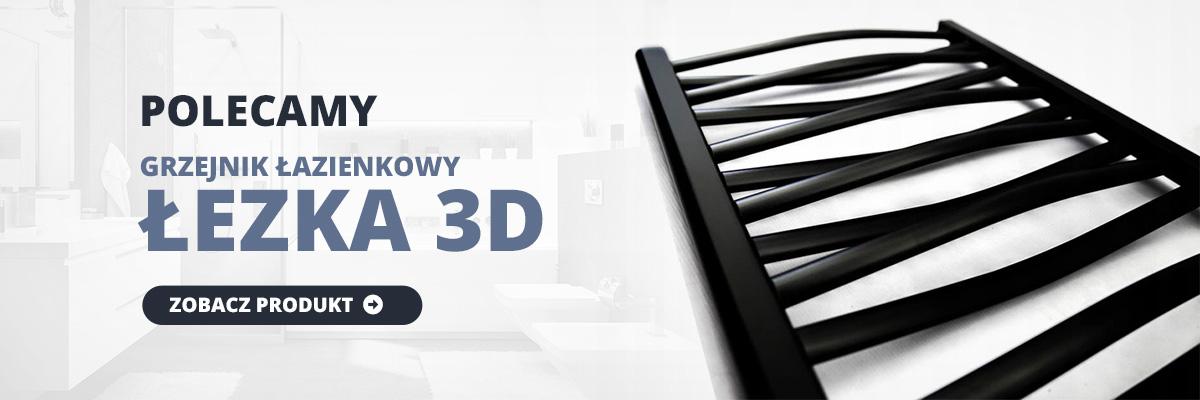 Grzejnik łazienkowy Łezka 3D
